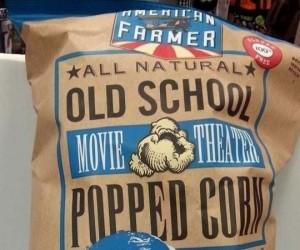 Mogli wybrać innego prezydenta do reklamowania tego popcornu...