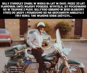 Pochowany na motocyklu