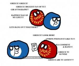 Wielki fan Grecji