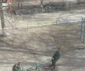 Robotnicy w pracy