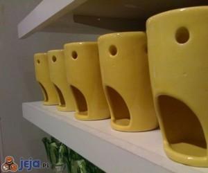 Przerażone kubki