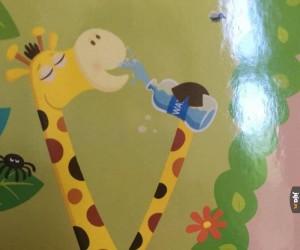 Żyrafo, co ty wyprawiasz?
