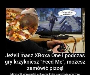 Jedna komenda by wezwać pizzę