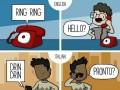 Kiedy dzwoni telefon