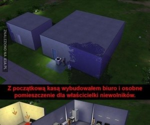 Symulator korpo w Simsach