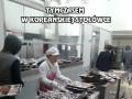 Tymczasem w koreańskiej stołówce, po przerwie obiadowej