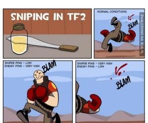 Bycie snajperem w TF2
