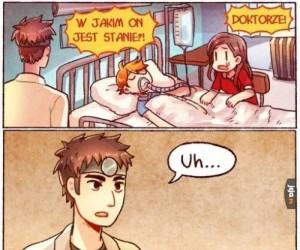Doktorze!