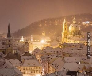 Zima w Pradze