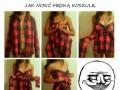Jak nosić męską koszulę