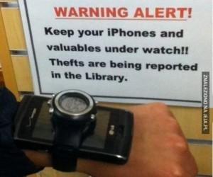 Uwaga, złodzieje!