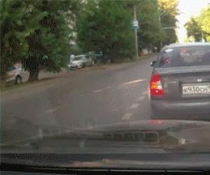 W Rosji to policja przejeżdża obywateli