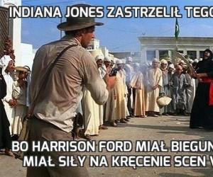 Indiana Jones zastrzelił tego Araba