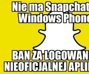 Ban na Snapchat