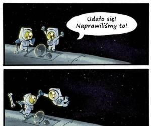 Nie okazuj radości w kosmosie