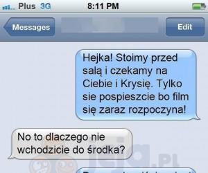SMS sprzed kina
