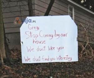 Biedny Greg...