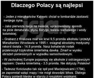 Dlaczego Polacy są najlepsi
