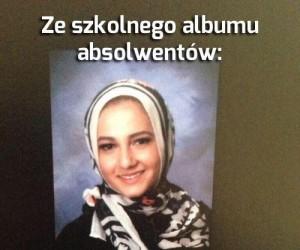 Ze szkolnego albumu absolwentów...