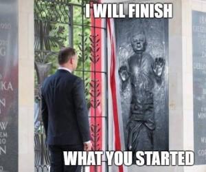 Skończę to, co zacząłeś