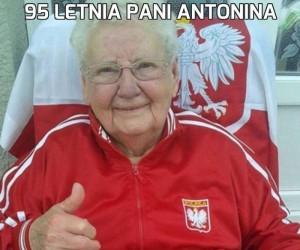 95 letnia pani Antonina