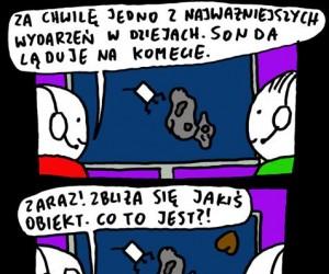 Lądowanie na komecie
