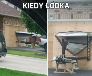Kiedy łódka