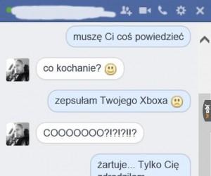 Zepsuty Xbox