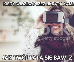 Kiedy widzisz przez ukrytą kamerę 360°