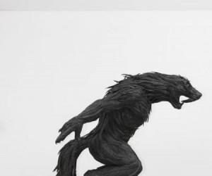 Niesamowite rzeźby z samochodowych opon