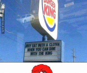 Ej, Burger King!