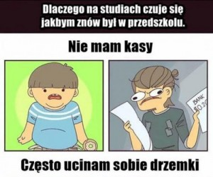 Studia są jak przedszkole