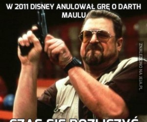 W 2011 Disney anulował grę o Darth Maulu