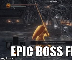 Epicka walka z bossem