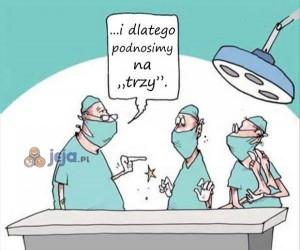 Krótki instruktaż jak nie opuścić pacjenta