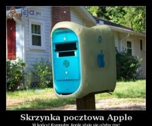Skrzynka pocztowa Apple