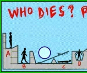 """Odpowiedź na obrazek ''Kto umrze?"""""""