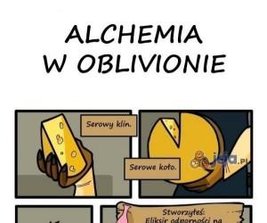 Alchemia w Oblivionie