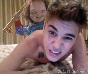 Niegrzeczny Bieber!