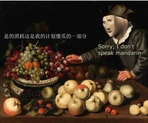 Nie mówię po mandaryńsku