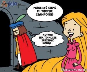 Mieć za żonę Roszpunkę...