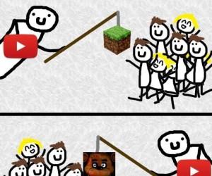 Przynęta na Youtube