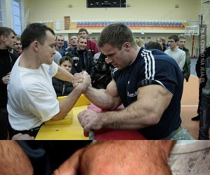 Denis Cyplenkov - koleś z wielką łapą