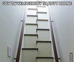 Gdy zwykłe schody są zbyt nudne