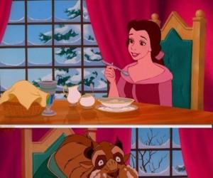Zawsze, gdy ktoś przyłapie mnie na jedzeniu