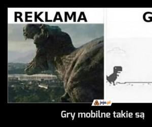 Gry mobilne takie są