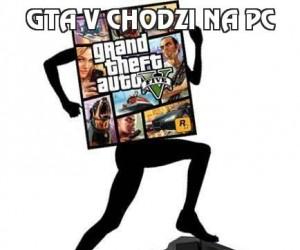 GTA V chodzi na PC
