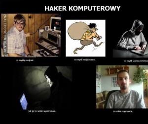 Haker komputerowy