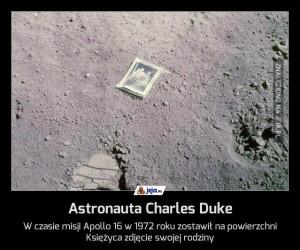 Astronauta Charles Duke