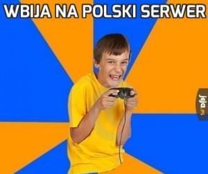 Wbija na polski serwer
